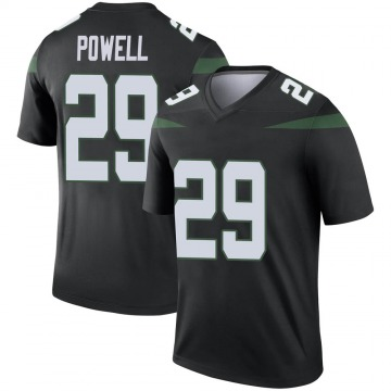 Men's Bilal Powell New York Jets Nike Legend Color Rush Jersey - Stealth Black