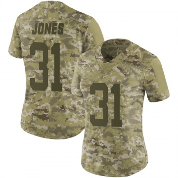 Women's Derrick Jones New York Jets Nike Limited 2018 Salute to Service Jersey - Camo