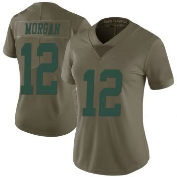 Women's James Morgan New York Jets Nike Limited 2017 Salute to Service Jersey - Green