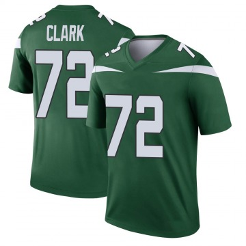 Youth Cameron Clark New York Jets Nike Legend Player Jersey - Gotham Green