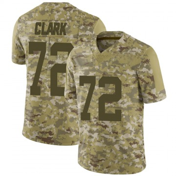 Youth Cameron Clark New York Jets Nike Limited 2018 Salute to Service Jersey - Camo