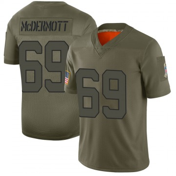 Youth Conor McDermott New York Jets Nike Limited 2019 Salute to Service Jersey - Camo