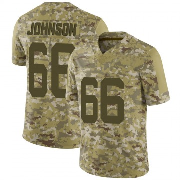 Youth Sterling Johnson New York Jets Nike Limited 2018 Salute to Service Jersey - Camo